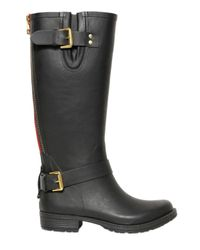 Colors Of California - Black 20Mm Rubber Boots - Lyst