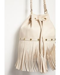Forever 21 | Natural Chain-braided Strap Crossbody You've Been Added To The Waitlist | Lyst