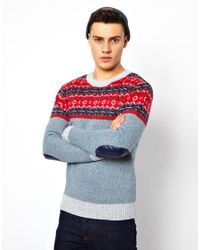 Rock Revival | Blue Jumper for Men | Lyst
