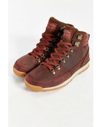 The North Face - Red Back To Berkeley Hiking Boot for Men - Lyst