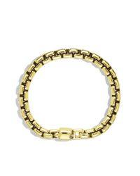 David Yurman - Metallic Box Chain Bracelet for Men - Lyst