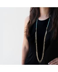 Jenny Bird | Metallic Palm Rope | Lyst
