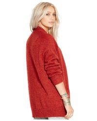 Denim & Supply Ralph Lauren | Red Button-front Cardigan | Lyst