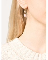 Irene Neuwirth | Pink Opal And Diamond Drop Earrings | Lyst