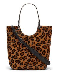 Elizabeth and James | Brown 'Cynnie' Convertible Shopper | Lyst