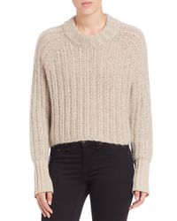 Rag & Bone - Natural Makenna Wool-blend Sweater - Lyst