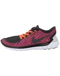 Nike - Purple Free 5.0 Print - Lyst