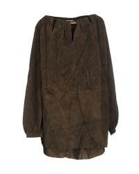 Emilio Pucci - Green Short Dress - Lyst