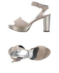 Stuart Weitzman - Natural Sandals - Lyst