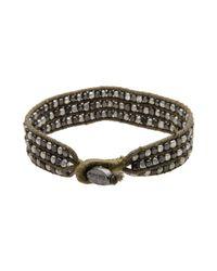 DIESEL - Green Bracelet - Lyst