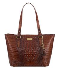 Brahmin | Brown Melbourne Collection Medium Asher Tote | Lyst