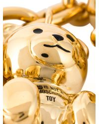 Moschino - Metallic This Is Not A Toy Necklace - Lyst