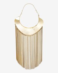 Monica Sordo | Metallic Goddess Fringe Necklace | Lyst