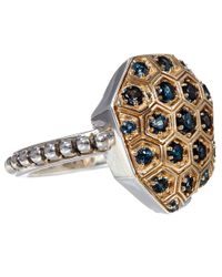 Stephen Dweck | Metallic Gold Galactical Honeycomb Ring | Lyst