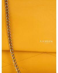 Lanvin | Yellow Sugar Mini Leather Shoulder Bag | Lyst