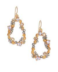 Alexis Bittar - Metallic Elements Moonlight Crystal Mosaic Link Drop Earrings - Lyst
