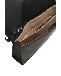 HUGO | Black Leather Handbag: 'blossom' | Lyst