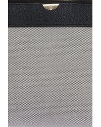The Row - Black Canvas Cross-body Bag - Lyst