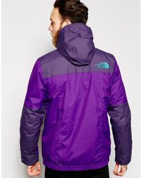 The North Face | Purple Rage Mountain Anorak for Men | Lyst