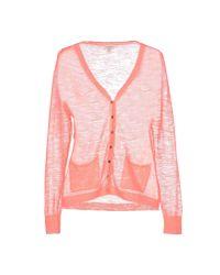 INTROPIA - Pink Cardigan - Lyst