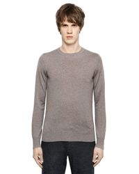 Emporio Armani | Gray Virgin Wool Sweater for Men | Lyst