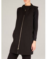 Marni - Black Boxy Hooded Gilet - Lyst