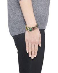 J.Crew | Multicolor Ombré Crystal Bracelet | Lyst