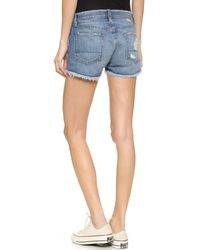 Bliss and Mischief - Blue Kit Cutoff Shorts - Supra - Lyst