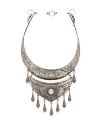 Natalie B. Jewelry | Metallic Protector Necklace | Lyst