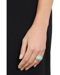 Irene Neuwirth - Metallic Diamond, Lightning Ridge Opal & White Gold Ring - Lyst