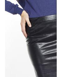 Liu Jo | Black 'Skin' Longuette Skirt | Lyst
