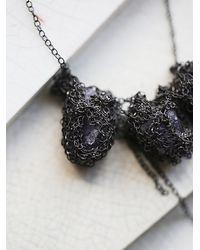 Free People - Metallic My Shadow Crystal Collar - Lyst