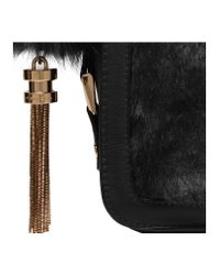 Carvela Kurt Geiger - Black Cale X Body Fur Bag - Lyst