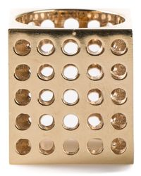 Kelly Wearstler | Metallic 'Cubist' Ring | Lyst