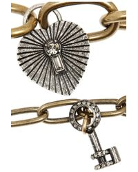 Lanvin | Metallic Susan Gold-Tone, Swarovski Crystal And Faux Pearl Necklace | Lyst