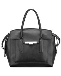 Nine West - Black Strong Angles Satchel - Lyst