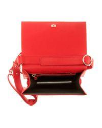 Victoria Beckham - Pink Mini Leather Shoulder Bag - Lyst