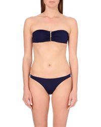 Melissa Odabash | Blue Sumatra Bandeau Bikini Top | Lyst