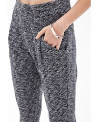Forever 21 - Gray Marled Knit Joggers You've Been Added To The Waitlist - Lyst