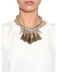 Weekend by Maxmara | Metallic Canasta Necklace | Lyst