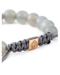Shamballa Jewels | Gray Beaded Bracelet | Lyst
