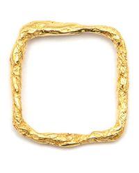 Niza Huang | Metallic 'illusion Square Ring' | Lyst