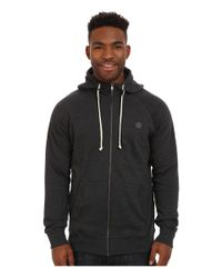 Volcom | Black Pulli Zip for Men | Lyst