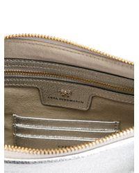 Anya Hindmarch - Metallic Tassel Detail Zip Clutch - Lyst