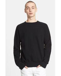 Rag & Bone - Blue Standard Issue Crewneck Sweatshirt for Men - Lyst