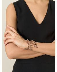 Ca&Lou | Metallic 'anna' Wrap Around Bracelet | Lyst