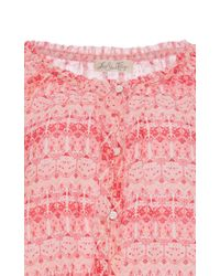 LoveShackFancy - Multicolor Cotton Long Sleeved Playsuit - Lyst