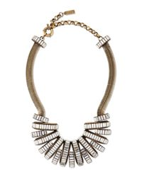 Auden - Metallic Stella Crystal Statement Necklace - Lyst