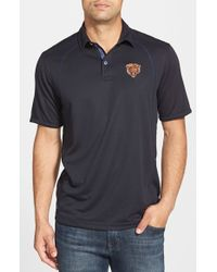 Tommy Bahama - Black 'firewall - Chicago Bears' Short Sleeve Nfl Polo for Men - Lyst