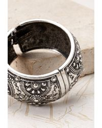 Forever 21   Metallic Engraved Hinge Bracelet You've Been Added To The Waitlist   Lyst